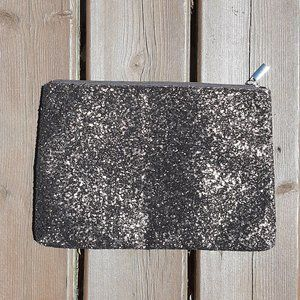 ⭐ SHISEIDO Bronze Glitter Make Up Cosmetic Bag